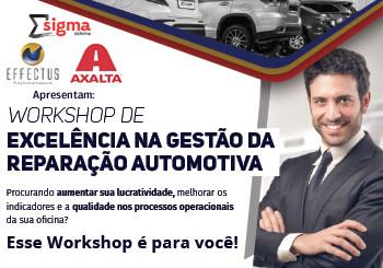 WORKSHOP DE EXCELÊNCIA NA GESTÃO DA REPARAÇÃO AUTOMOTIVA